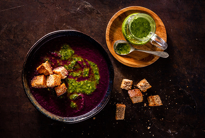 bataat soep recept