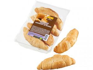 Afbak croissants met roomboter