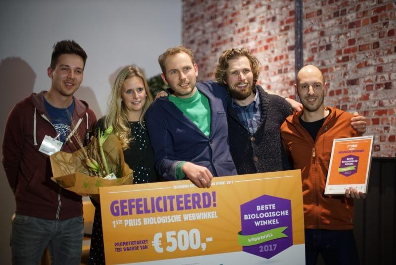 Hofweb beste bio webwinkel van Nederland