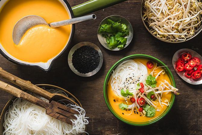Thaise Pompoensoep (vegan)